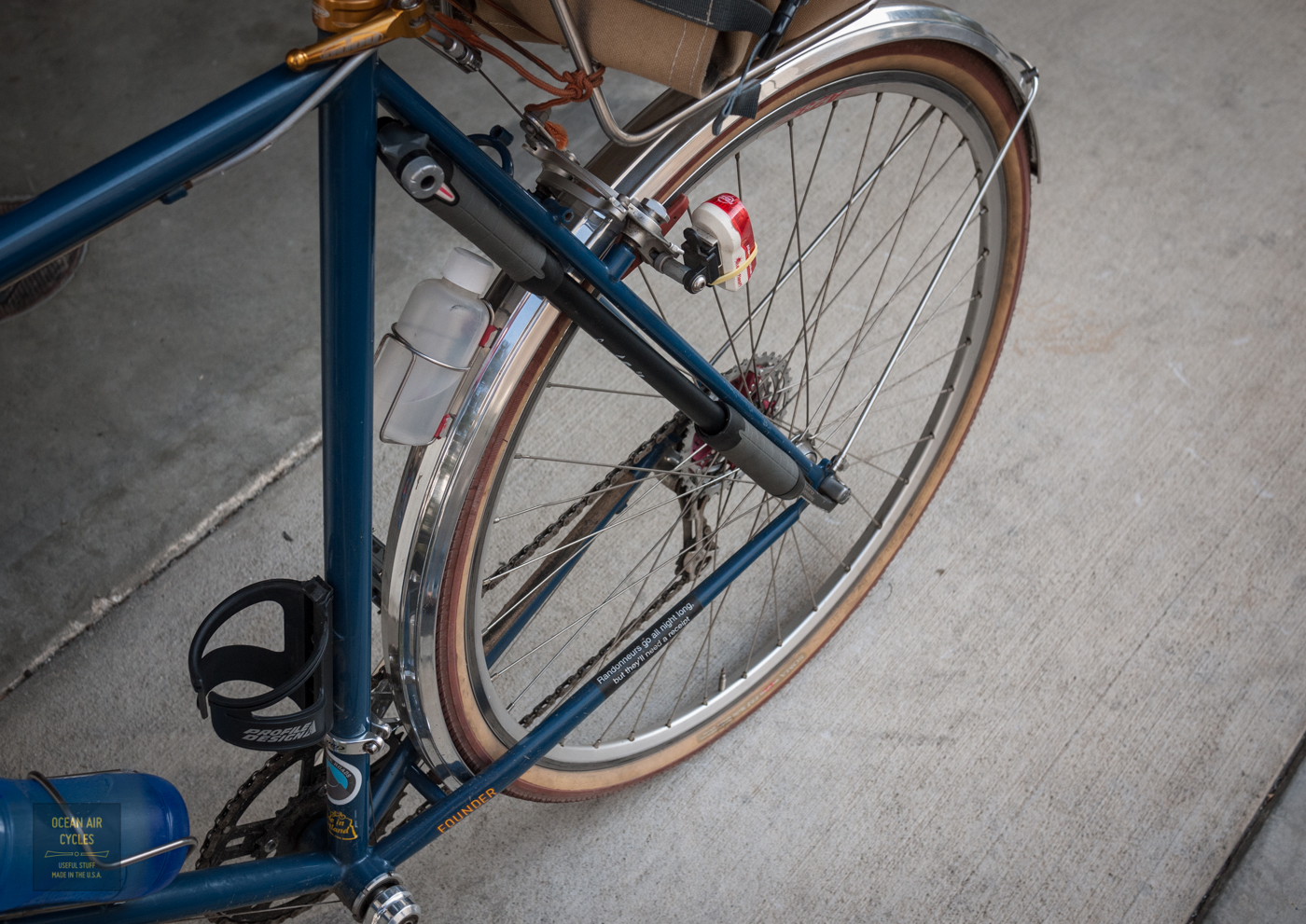Carrying A Pump on the Rambler | Ocean Air Cycles - Click to Shop