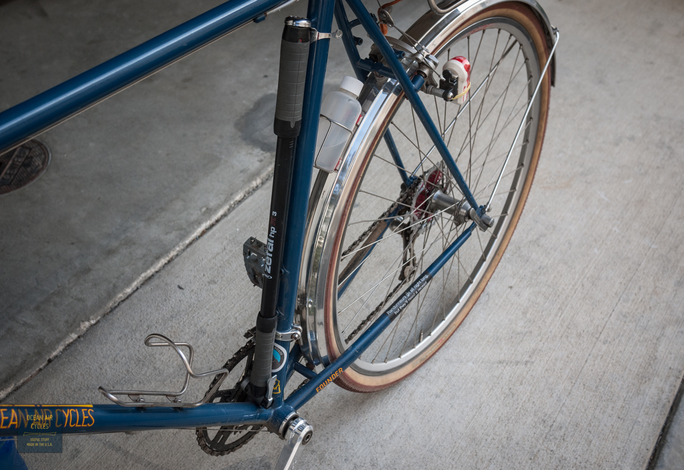 Attaching frame pump to top tube, or other pump options. - Bike Forums